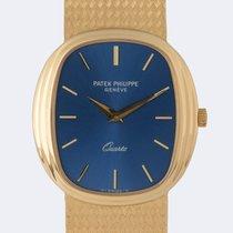 Patek Philippe Golden Ellipse Yellow gold 33mm Blue