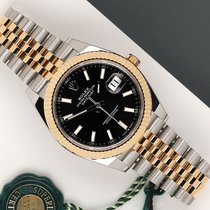 Rolex Datejust Gold/Steel 41mm Black