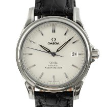 Omega De Ville Co-Axial Staal 37.5mm Zilver