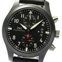 IWC Pilot Chronograph Top Gun Титан 46mm Черный