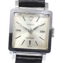 Rolex Silver 18mm pre-owned Bubble Back