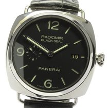 Panerai Radiomir Black Seal 3 Days Automatic 45mm Черный