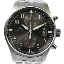 IWC Pilot Spitfire Chronograph 43mm Cinzento