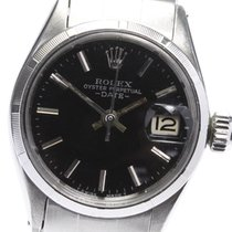 Rolex Oyster Perpetual Lady Date 25mm Negro