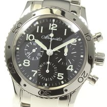 Breguet Steel 39mm Automatic 3800 pre-owned