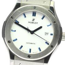 Hublot (ウブロ) クラシック・フュージョン 45、42、38、33 mm 中古 42mm ホワイト レザー