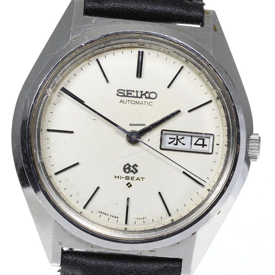 Seiko 5646-7010 pre-owned