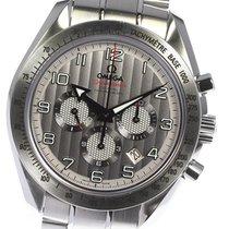 Omega Speedmaster Broad Arrow 44mm Gümüş
