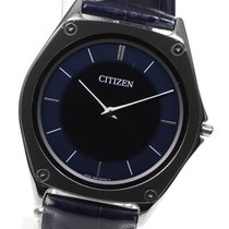 Citizen Eco-Drive One pre-owned 37mm Black Leather