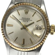 Rolex Oyster Perpetual Lady Date 25mm Silver