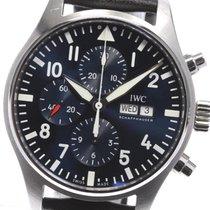 IWC Pilot Chronograph usados 43mm Azul Cronógrafo