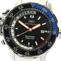 IWC Aquatimer Deep Two Acero 47mm Negro