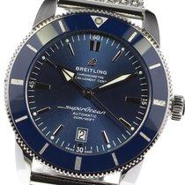 Breitling Superocean Heritage II 46 подержанные 42mm Синий Сталь