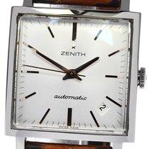 Zenith New Vintage 1965 Acier 33mm Argent