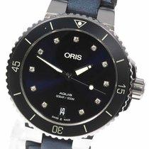 Oris Aquis Date Steel 36mm Blue