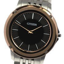 Citizen Eco-Drive One pre-owned 39mm Black Steel