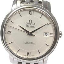 Omega De Ville Prestige Steel 37mm Silver