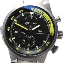 IWC Chronograph Black 44mm Aquatimer Chronograph