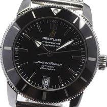 Breitling Superocean Heritage II 42 подержанные 42mm Черный Сталь
