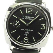 Panerai PAM00380 Staal Radiomir Black Seal 44mm tweedehands