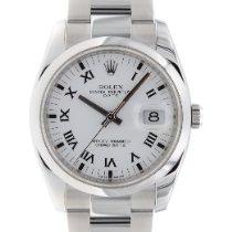 Rolex Oyster Perpetual Date Stahl 34mm Weiß Keine Ziffern Deutschland, München