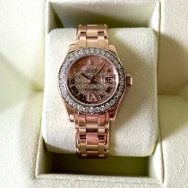 Rolex Lady-Datejust Pearlmaster Or rose 29mm