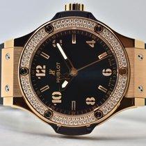 Hublot Big Bang 38 mm Pозовое золото 38mm Черный Без цифр