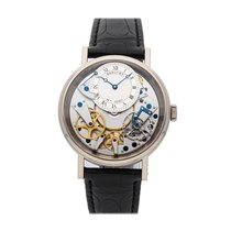 Breguet White gold Manual winding Roman numerals 40mm pre-owned Tradition