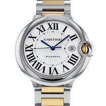 Cartier W69009Z3 Золото/Cталь Ballon Bleu 42mm 42mm подержанные