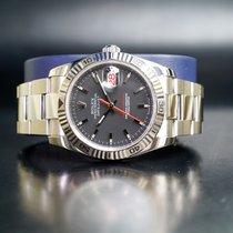 Rolex Datejust Turn-O-Graph Stahl 36mm Grau Keine Ziffern