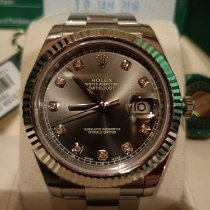Rolex White gold Automatic No numerals new Datejust II
