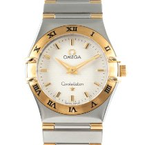 Omega Constellation Ladies Gold/Steel 26mm Silver
