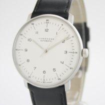 Junghans max bill Automatic Steel 38mm Silver Arabic numerals