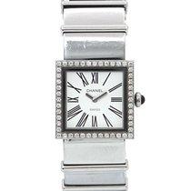 Chanel Mademoiselle Steel 22.5mm White