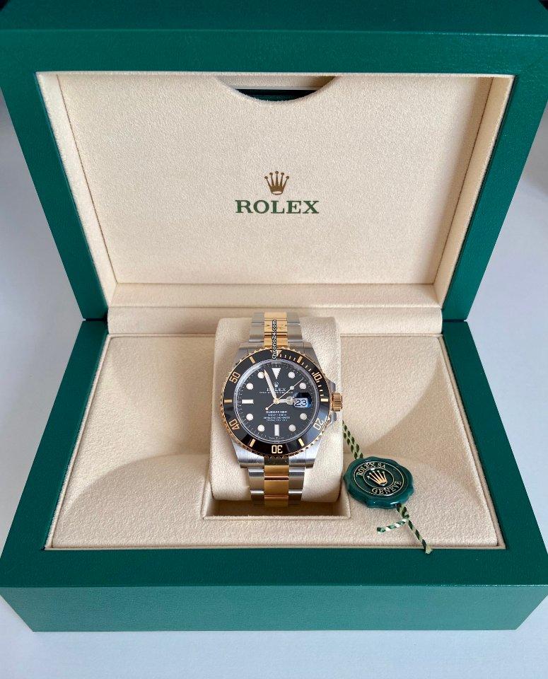 Rolex Submariner Date 126613LN 2021 új