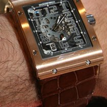 Richard Mille RM 016 Red gold Transparent Arabic numerals