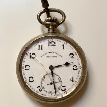 Zenith Watch pre-owned 1934 Aluminum Arabic numerals Manual winding Watch only