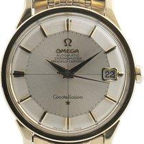 Omega 168.005 Сталь 1966 Constellation 34mm подержанные