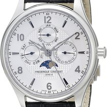 Frederique Constant Runabout Moonphase Steel 40mm Silver