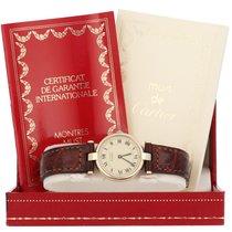 Cartier Silver 24mm Quartz Vintage Cartier pre-owned