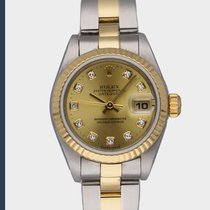 Rolex Lady-Datejust Staal 26mm Wit