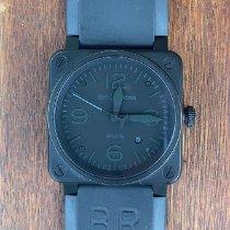 Bell & Ross BR0392-PHANTOM-CE Керамика 2010 BR 03-92 Ceramic 42mm подержанные