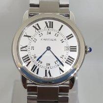 Cartier Ronde Solo de Cartier Steel 36mm White Roman numerals