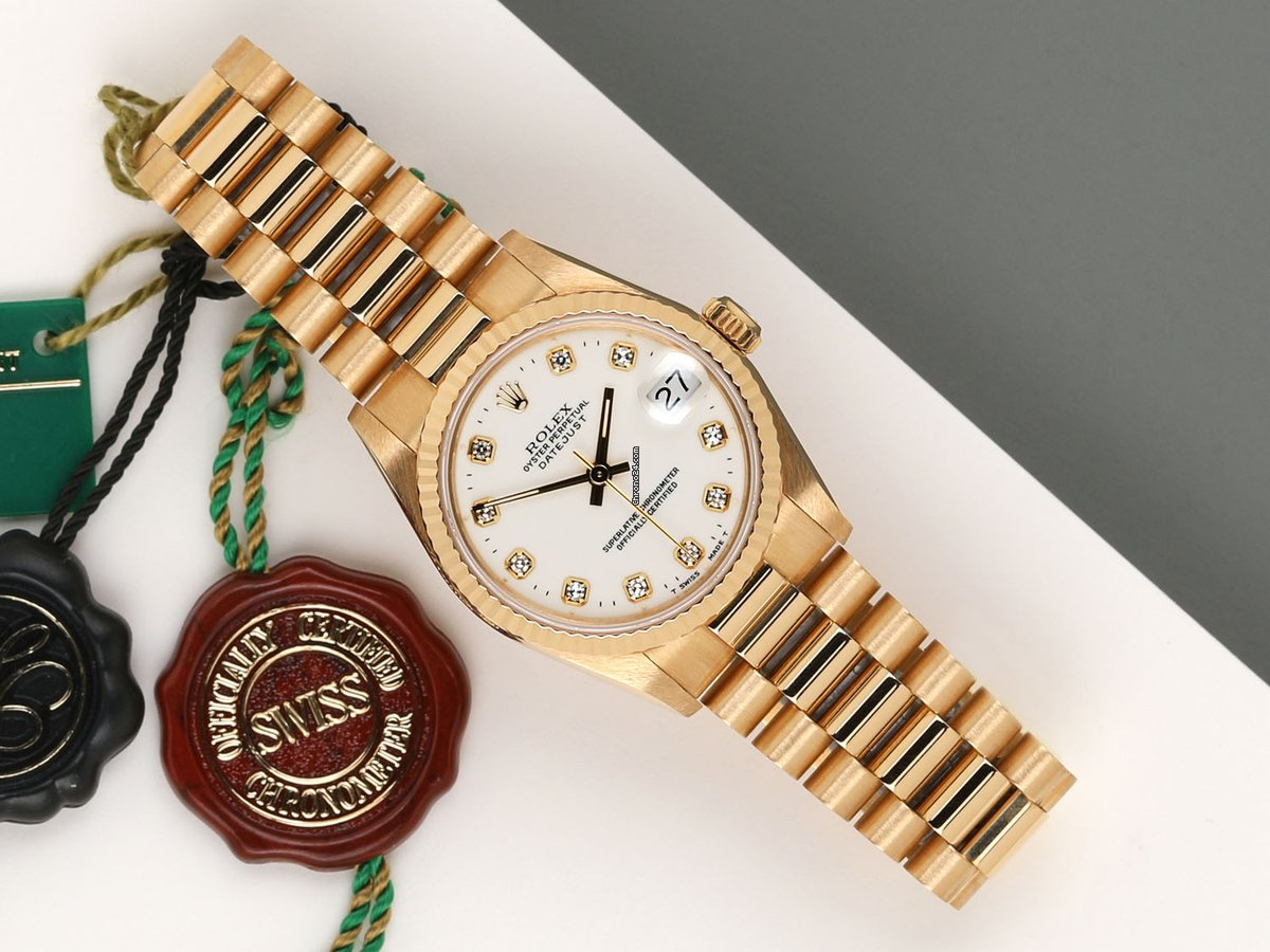 Rolex Datejust 31 68278 1995 pre-owned