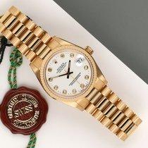 Rolex Datejust 68278 Πολύ καλό Κίτρινο χρυσό 31mm Αυτόματη