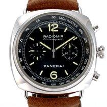 Panerai Radiomir Chronograph Steel 45mm Black Arabic numerals