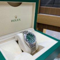 Rolex Oyster Perpetual 36 Çelik 36mm Yeşil Rakamsız Türkiye, İstanbul