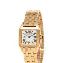Cartier Santos Demoiselle Yellow gold 26mm Silver Roman numerals United States of America, New York, Hartsdale