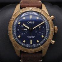 Oris Carl Brashear Bronze 43mm Blue United States of America, California, Huntington Beach