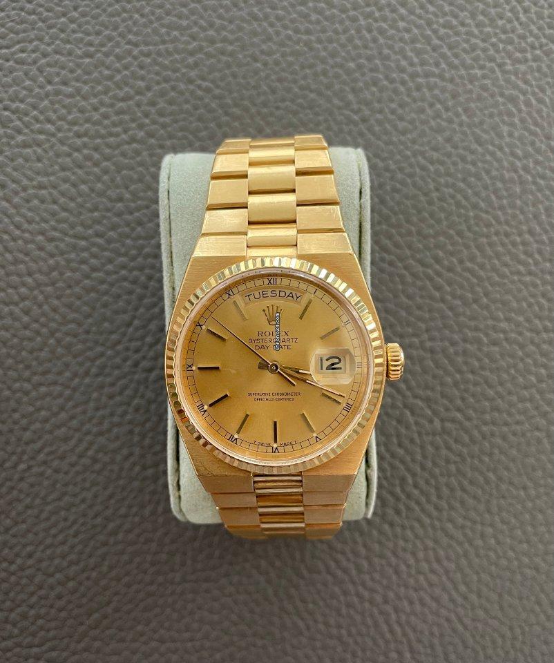 Rolex Day-Date Oysterquartz 19018 1979 tweedehands
